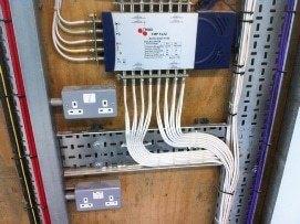 MATV Systems Cabinet