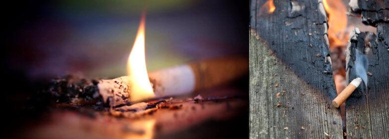 Cigarettes Fire Risks