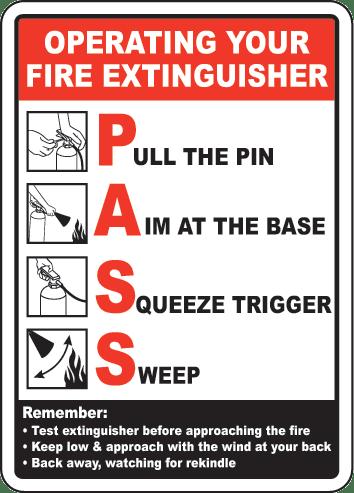 Fire Extinguisher PASS