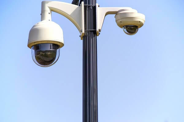 Speed Dome PTZ CCTV Cameras Pole-Mounted