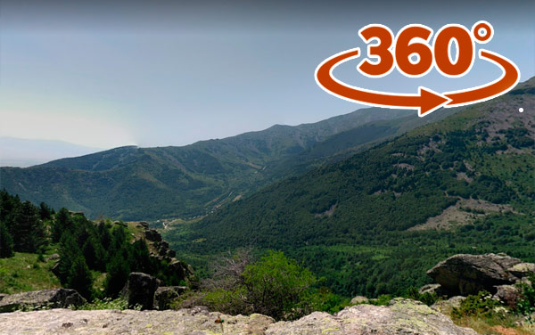 Crveni Steni Pelister 360 Panorama