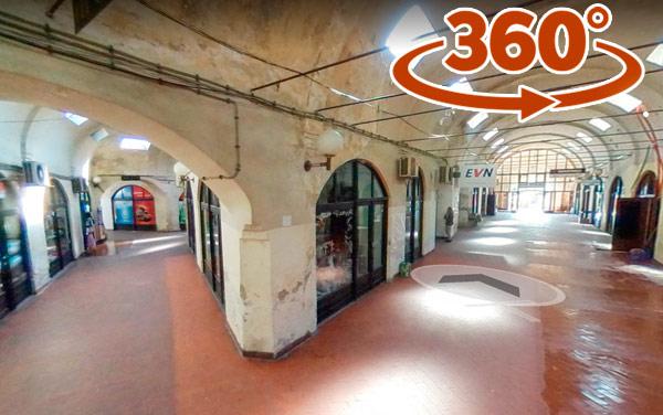 Bezisten – Covered Bazaar in Bitola – 360* Virtual Walk