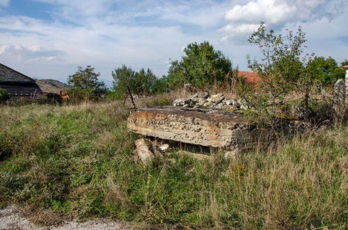 Бункер од Првата светска војна во село Старавина