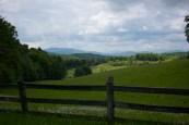 Farmland on Blue Ridge Parkway