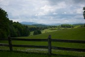 Farmland on Blue Ridge Parkway