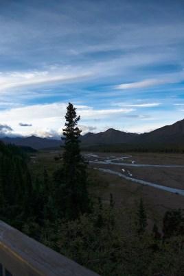 Mountain views in Denali National Park