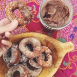 Doughnut Smothered with Duck-Liver Paste