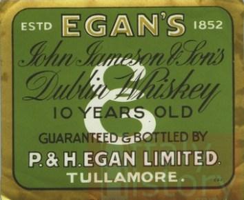 068041 Labels - P&H Egan-Tullamore