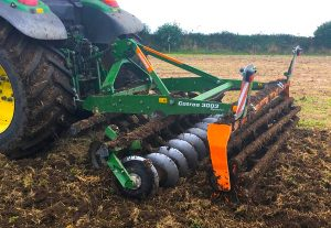 Laois Dealer Launches New Amazone Catros Compact Disc Harrow