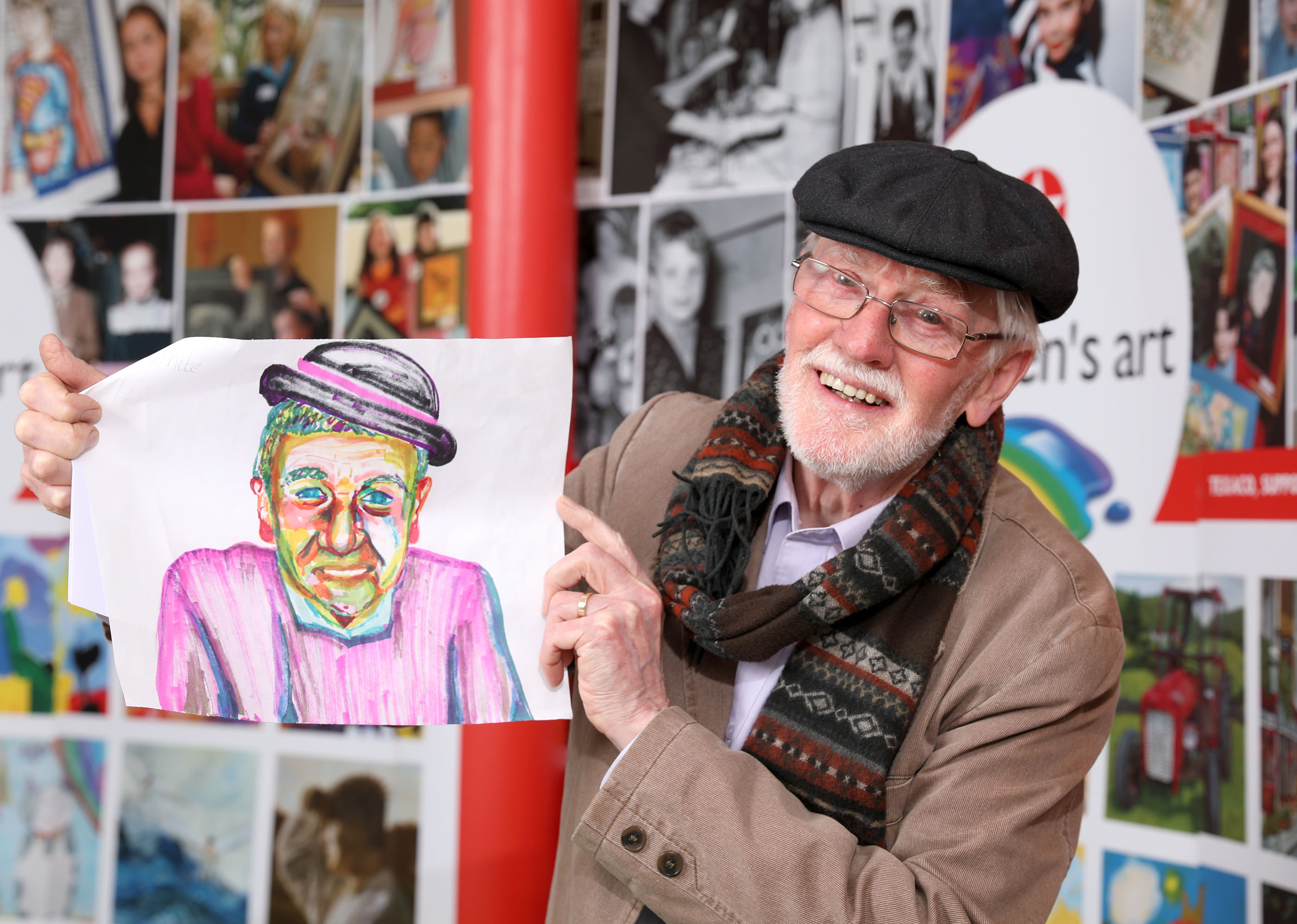 Laois Student Brings Colour To Art Competition