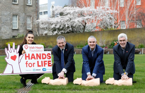 Free community CPR training programme launched by Irish Heart Foundation