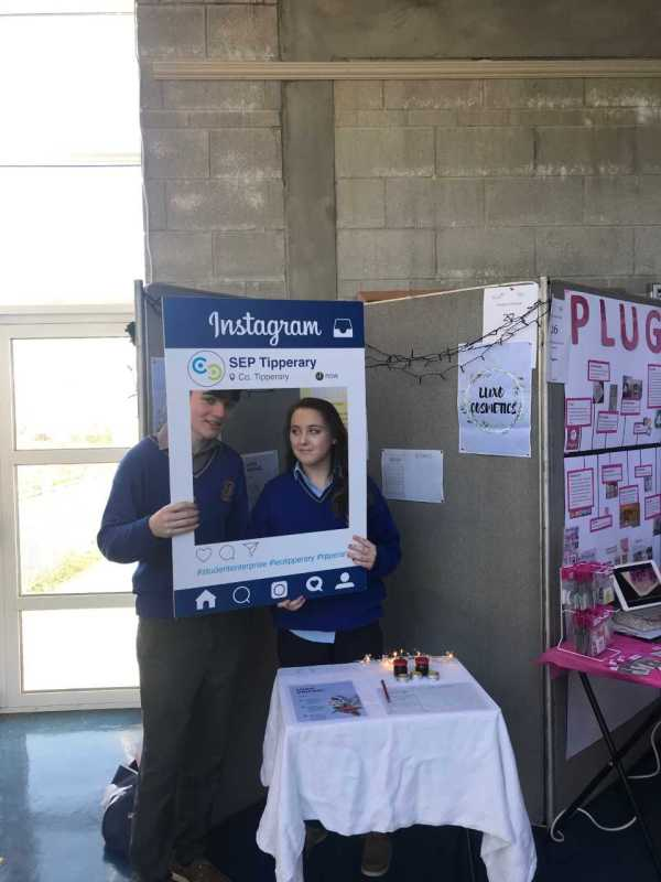 Students from St Joseph's College show Entrepreneurial Spirit at County Final of the Tipperary Student Enterprise Program