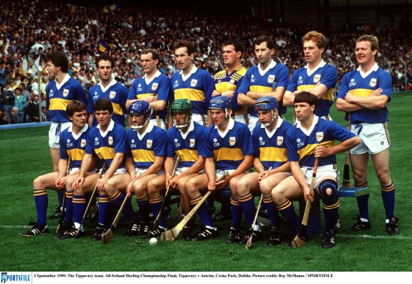 Tipperary's 1989 All-Ireland winning hurling team will be honoured by Gaelic Players Association