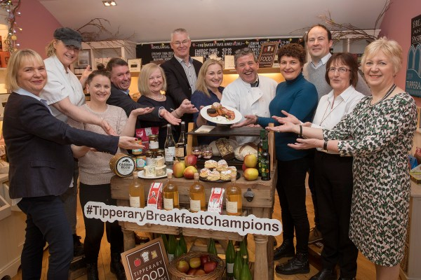 Tipperary Breakfast Champions are ready to serve Féile Trip to Tipp visitors…as Kevin Thornton returns for a Premier breakfast!