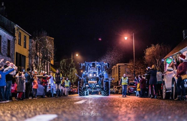 The Christmas Tractors of Nenagh