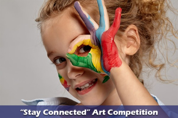 Art Competition - Be Creative - Stay Connected for a chance to win a €50 voucher