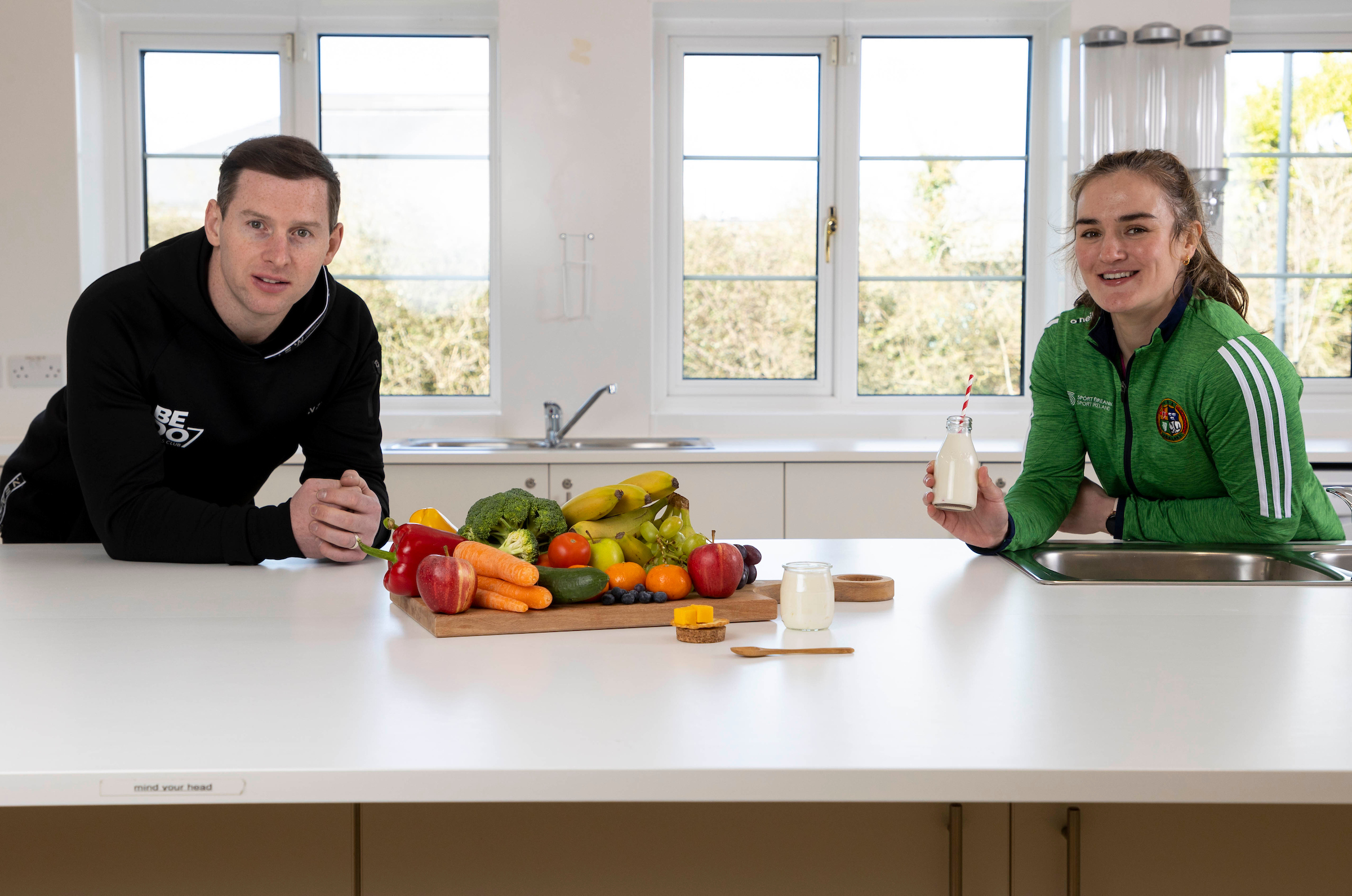 Ireland's sporting Heroes inspiring young people on and off the Pitch!