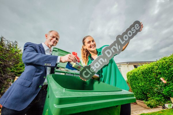 Recycling Changes announced as Soft Plastic Waste, that is clean, dry and loose, can now be placed in Irish Household Recycling Bins.