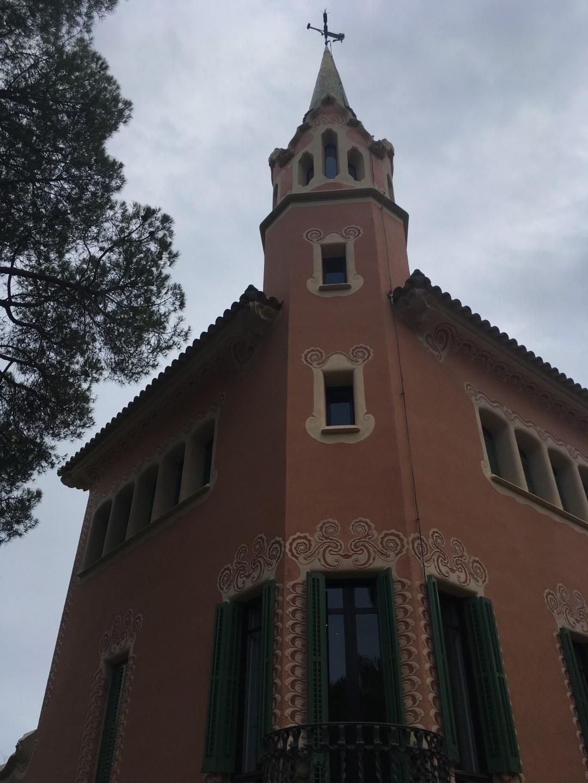 Gaudi's house, Park Güell, Barcelona
