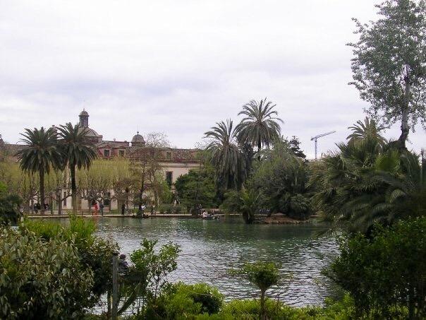 Parc de la Ciutadella in Barcelona Spain