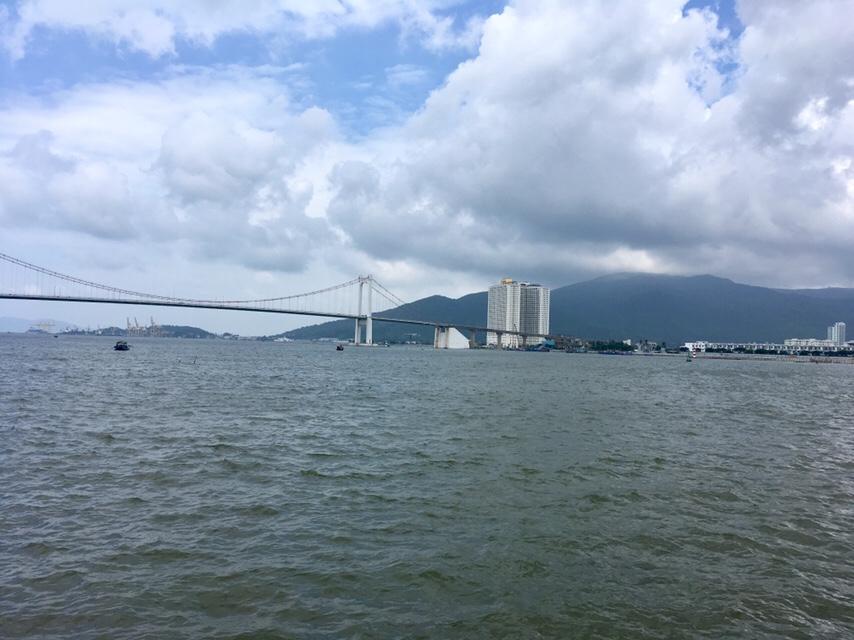 Thuan Phuoc Bridge over the Han River in Da Nang, Vietnam