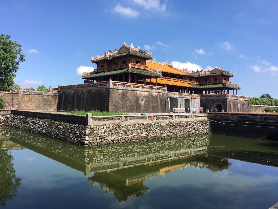 Entrance to Forbidden city, Hue, Vietnam