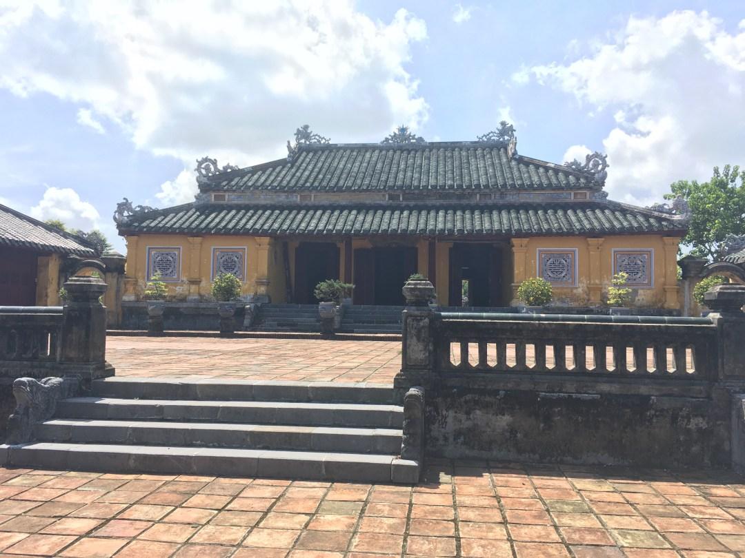 Forbidden purple city, Hue Imperial City