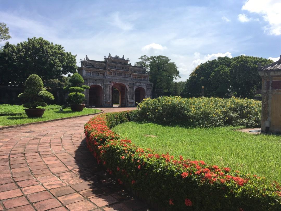 Gardens, Forbidden purple city, Hue Imperial City