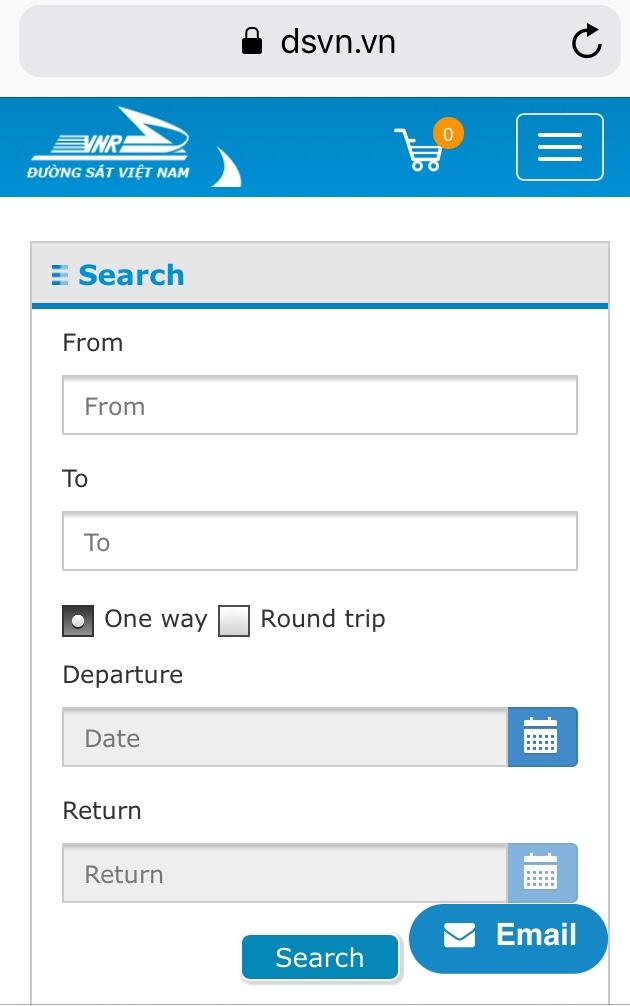 booking site for Vietnam sleeper trains