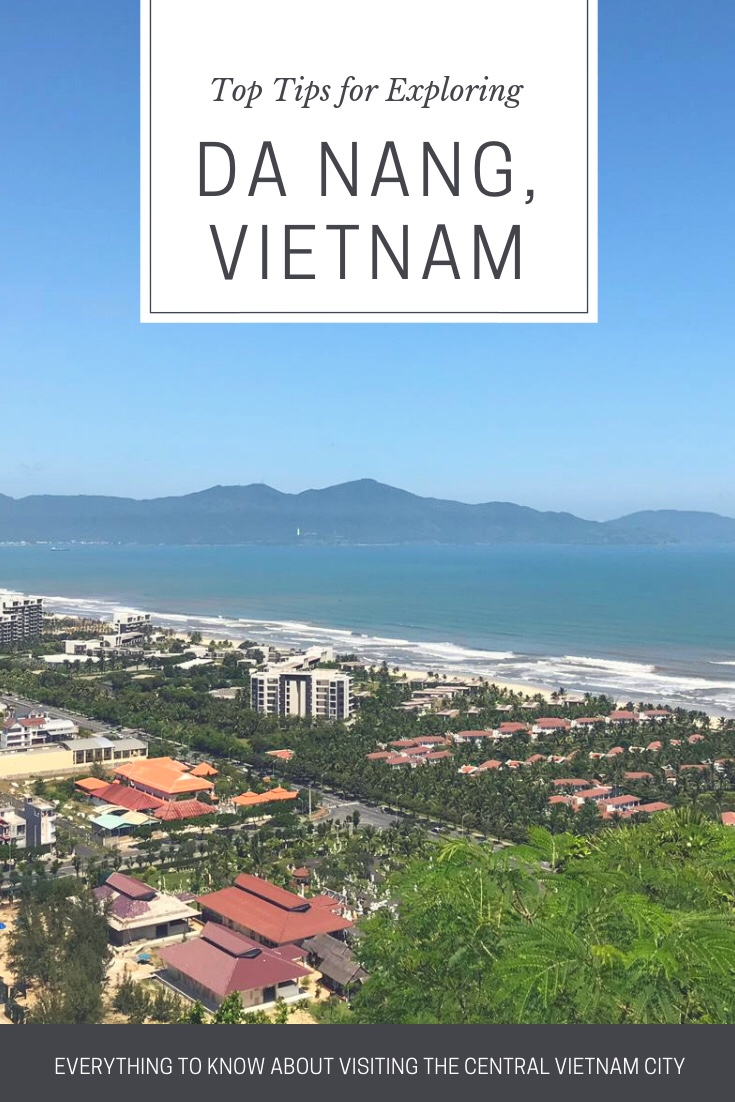 Things to do in Da Nang Vietnam - Pinterest graphic