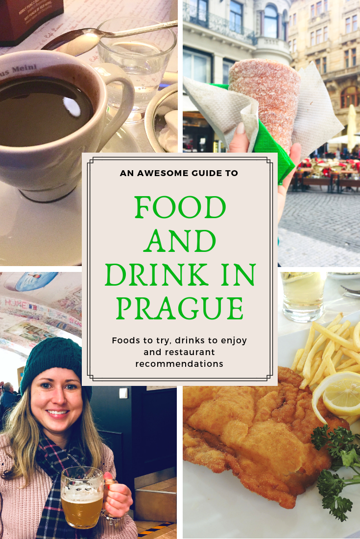 Food and drink in Prague - Pinterest