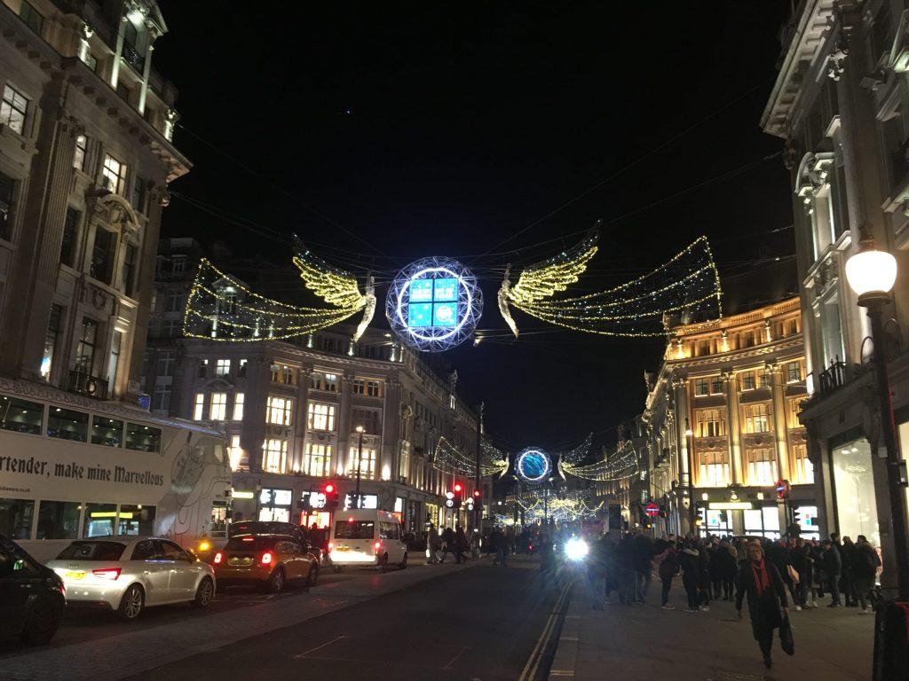 Regent Street Christmas Lights London 2019