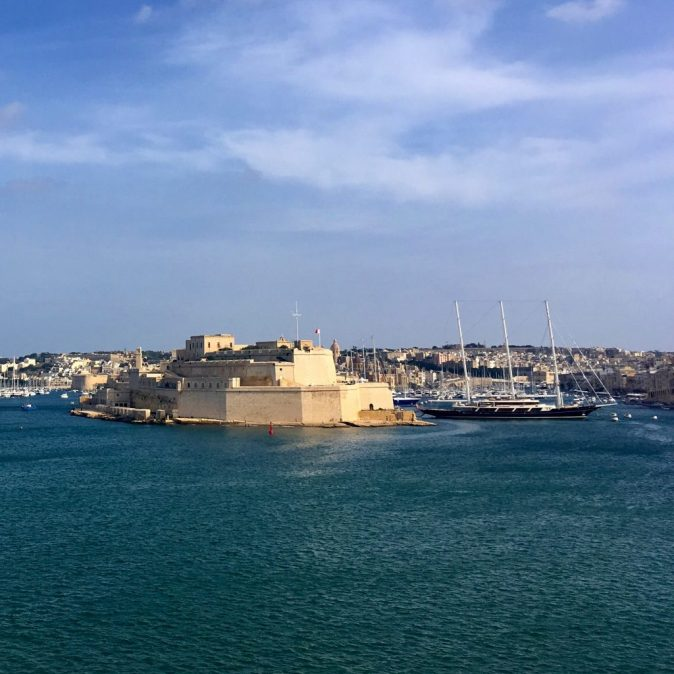 View from Valletta's Grand Harbour