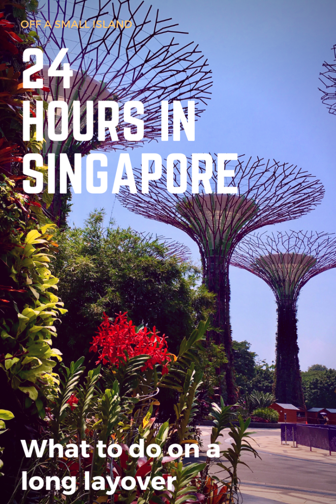 24 hours in Singapore - What to do on a long layover - Pinterest