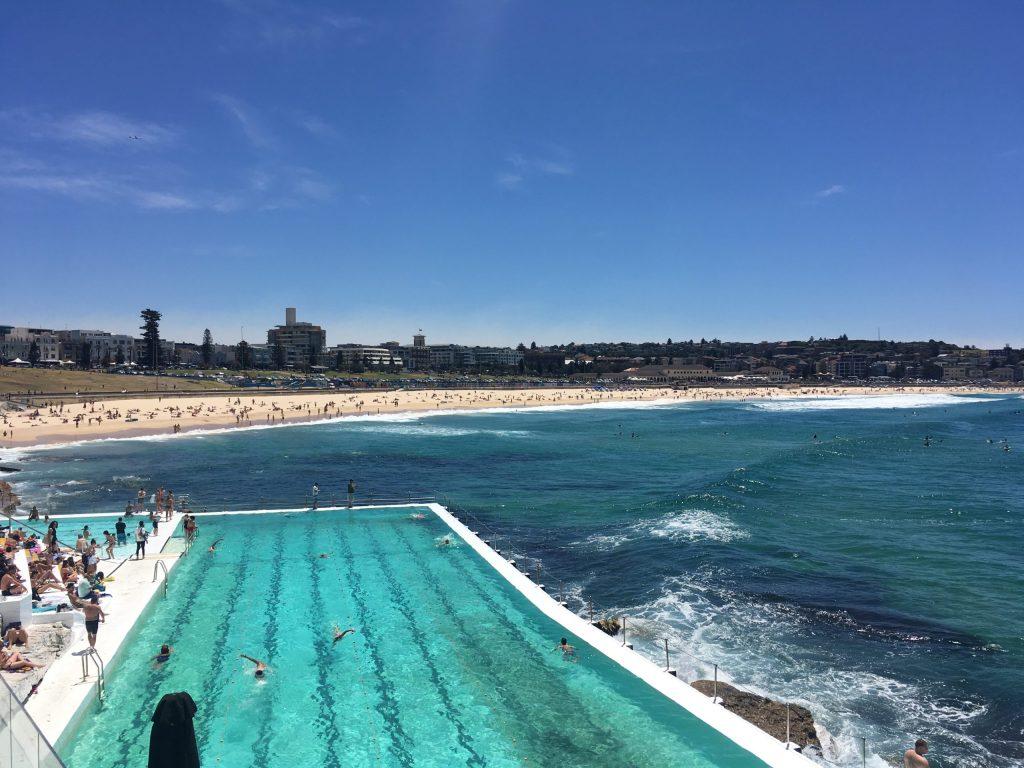 Icebergs and Bondi Beach, Sydney, Australia
