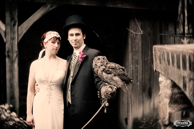owls as ring bearers