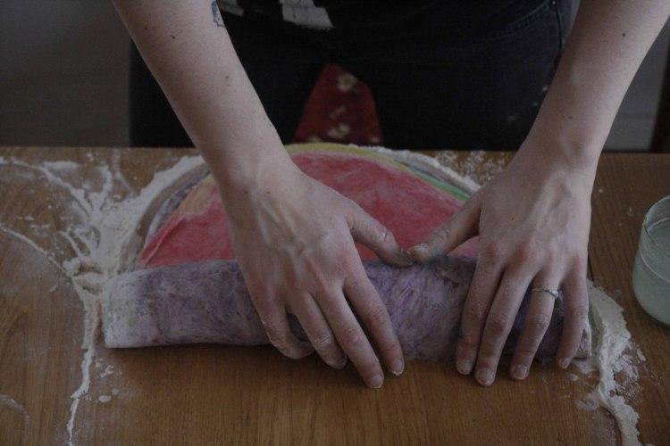 rainbow communion bread 3