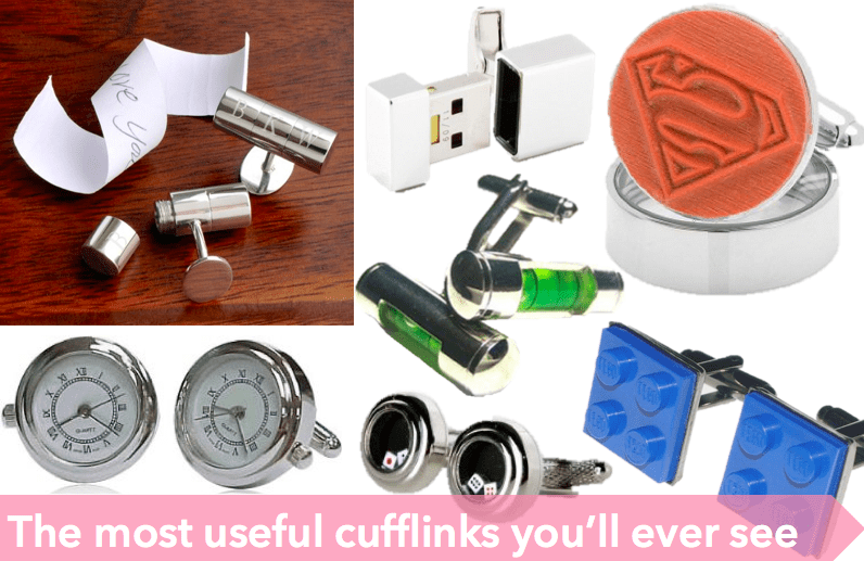 the coolest and most useful cufflinks