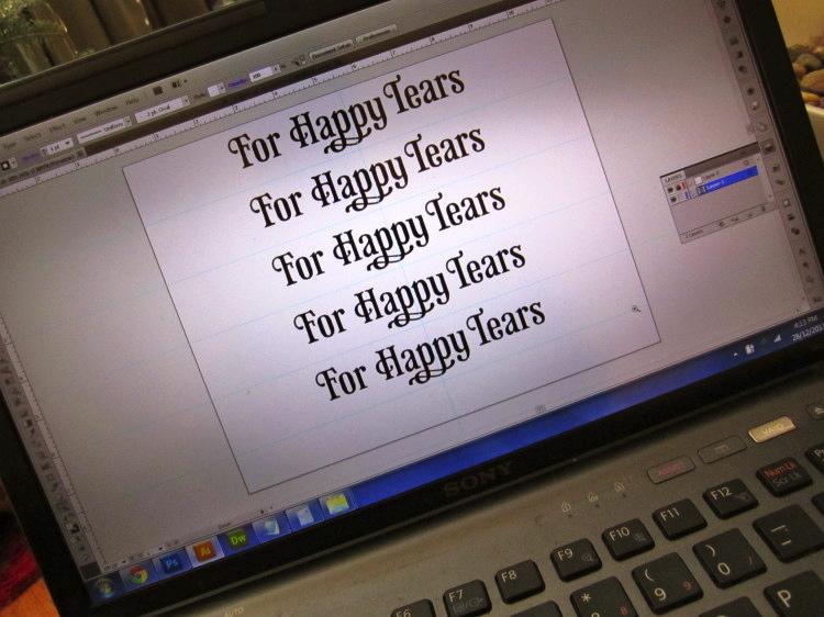 happy tears wedding tissues 6