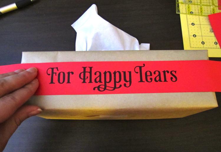 happy tears wedding tissues 9