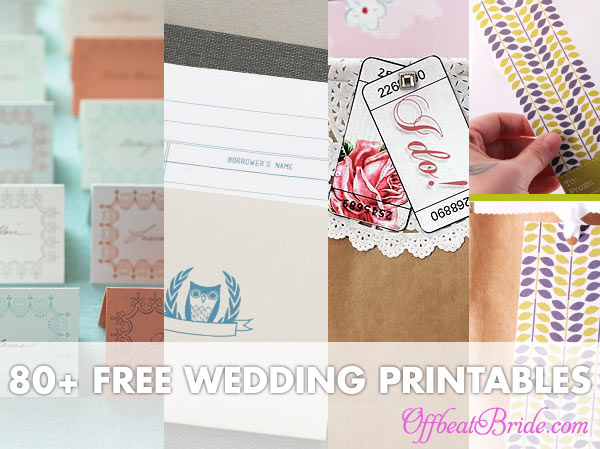 wedding-printables