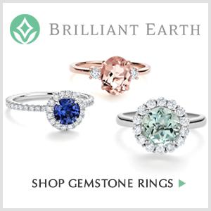 Shop gemstone rings from Offbeat Bride sponsor, Brilliant Earth