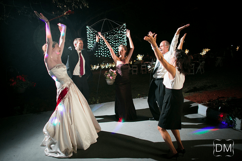 This dance at Tribesmaid Heatherlickliter's reception is probably more familiar though. You get three Village People guesses. Photo by The Decisive Moment
