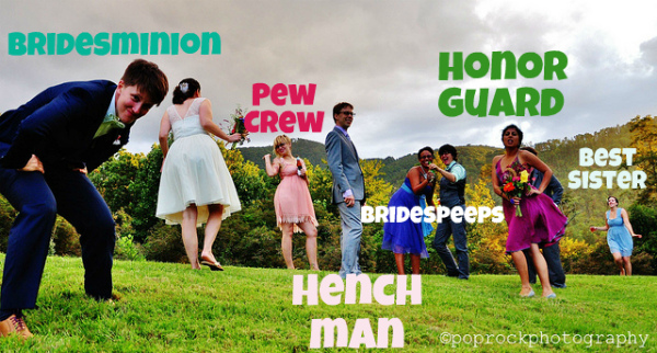 alternative names for bridal parties