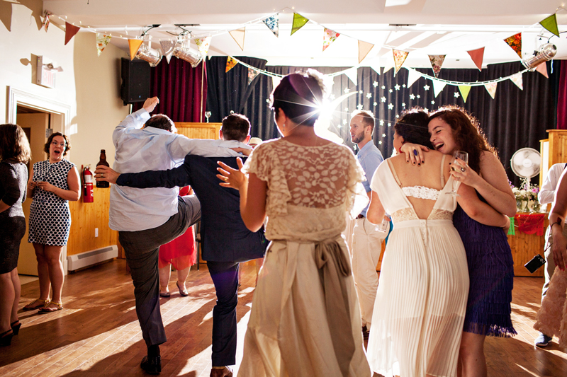 That time you hugged your bff on the dance floor, while your brothers did the Can Can.