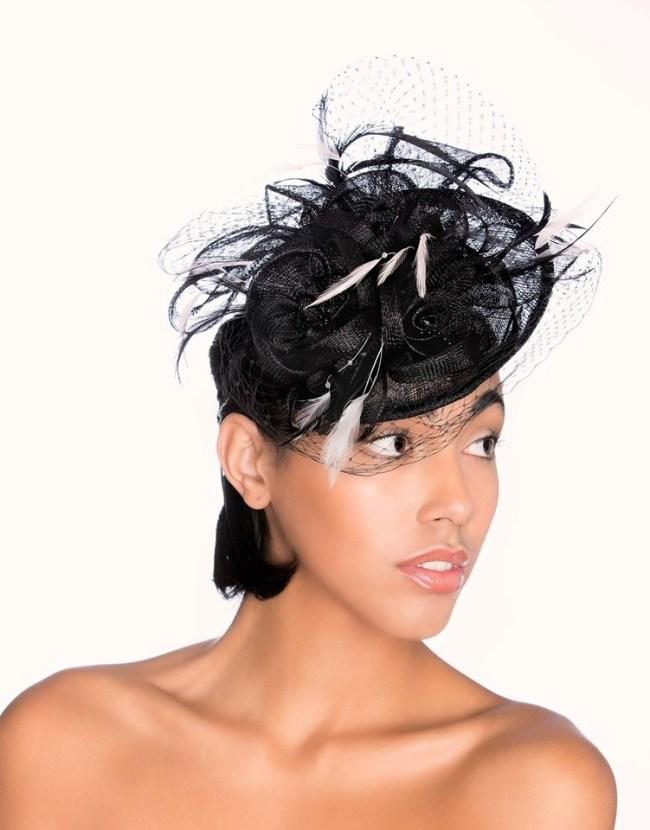 vintage style wedding hats