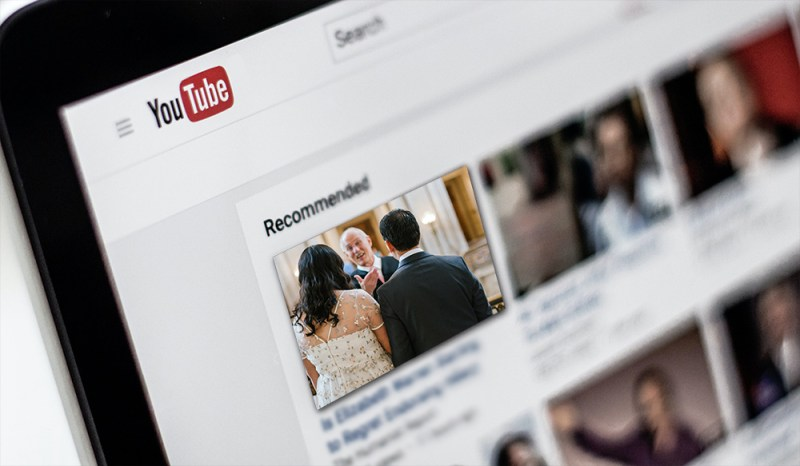 How to broadcast your wedding live on YouTube
