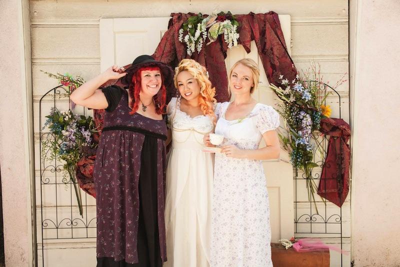 austenland bridal shower photo booth 2