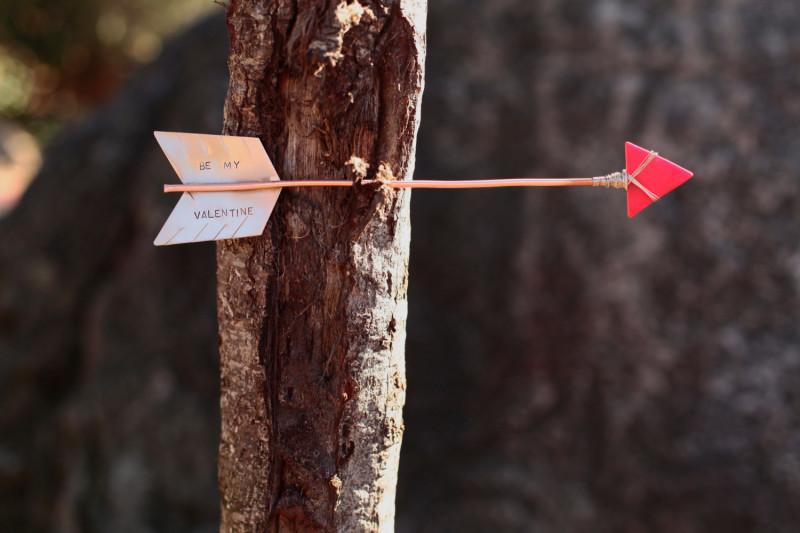 Valentine Message Arrow