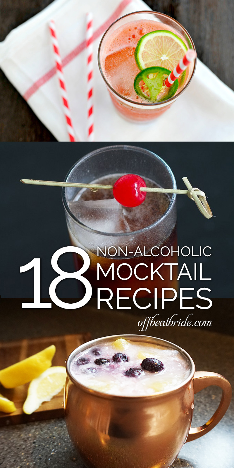 Mocktail recipes for weddings